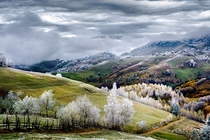 White frost over Pestera village in Romania Eduard Gutescu