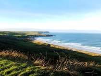 White Park Bay Viewpoint Ballycastle Ireland