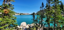 White Pine Lake UT The color of the water was unreal