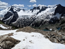 White Rock Lakes and the Dana Glacier Ptarmigan Traverse WA