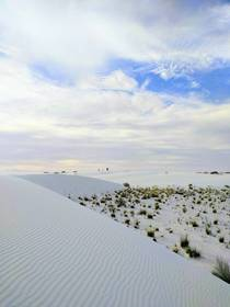 White Sands National Monument May  pm  since its getting all the love