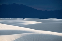 White Sands National Park is one of the most otherworldly landscapes Ive ever seen