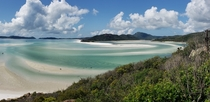 Whitehaven Beach Australia on a beautiful day