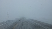 Whiteout in Nebraska January rd