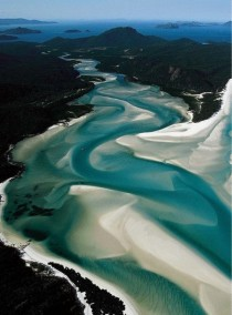 Whitsunday Islands Whitehaven Beach Australia