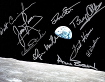 Who here collect astronaut autographs