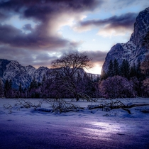 Why winter is my favorite season Yosemite NP Feb