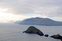 Wild Atlantic Way off the coast of the Dingle Peninsula  Ireland