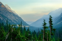Wildfire Sunrise - North Cascades National Park