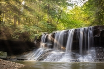 Wiley Creek Falls of Northeast Ohio US  IG endearingjourney