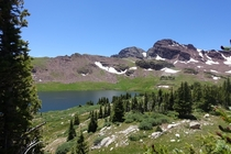 Willow Lakes in the Maroon Bells Colorado