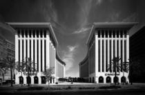 Wilshire Colonnade Los Angeles CA by Edward Durell Stone  IG modarchitecture