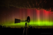 Wind and spaceweather are transformed in this haunting night skyscape The prairie windmill and colourful auroral display were captured on October  from central South Dakota USA as a good season for aurora hunters came with longer autumn nights
