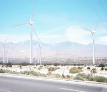 Wind Farm - Palm Springs CA