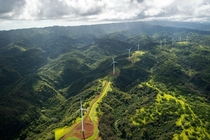 Wind turbines on Oahu  x