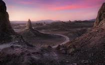 Window to Mars - One of the places I would love to go back for more images Trona Pinnacles CA -