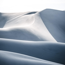 Windswept hills - Great Sand Dunes National Park CO