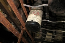 Wine bottle in an abandoned Doctors mansion in Germany  Album in the comments