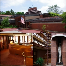 Wingspread - Frank Lloyd Wrights last Prairie House was designed for Herbert F Johnson Jr and constructed on  acres in Racine Wisconsin from  to  At  sq ft it is one of his most expensive home designs