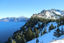 Winter at Crater Lake National Park x