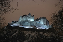 Winter at Edinburgh Castle