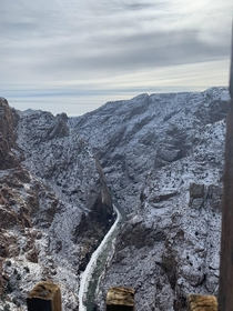 Winter at The Royal Gorge in Colorado x OC