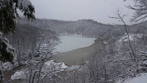 Winter at Work - Six Mile Creek Ithaca NY
