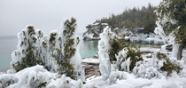Winter hikes are underrated - Bruce Peninsula Ontario Canada