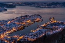 Winter in Bergen Norway