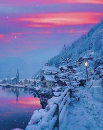 Winter in Hallstatt