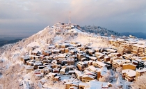 Winter in Murree Pakistan - City atop a hill  x-post rExplorePakistan