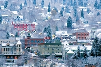 Winter in Nelson British Columbia