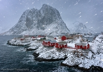 Winter in Reine Norway  Photographed by Paul Bruins