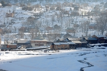 Winter in Sharda Neelum Valley Northern Pakistan