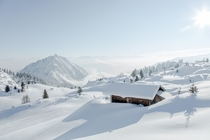 Winter in the Austrian Alps  Photographed by Torsten Muehlbacher