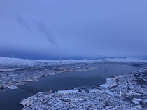 Winter in Troms Norway arctic circle OC
