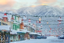 Winter in Whitefish Montana  by Chuck Haney