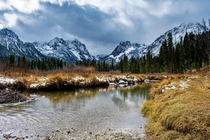 Winter is coming to the Sawtooth Wilderness Idaho