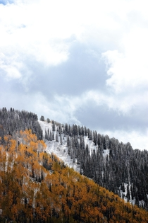 Winter is here in the Wasatch Range