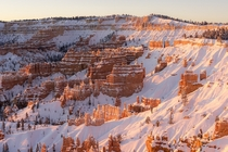 winter isnt usually my favorite season but winter in the desert can be spectacular Bryce Canyon UT  x