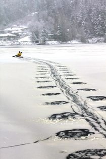 Winter Kayaking in Gig Harbor WA