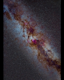 Winter milkyway  Cygnus to Cepheus from bortle  location