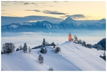 Winter Morning in Jamnik Slovenia photo by Simon Benedii