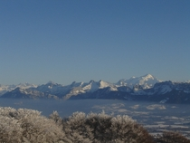 Winter Mountainscape - Haute Savoie France -