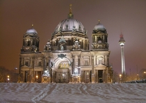Winter night in Berlin
