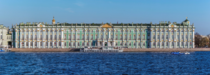 Winter Palace served as the official residence of the Russian Emperors from  to
