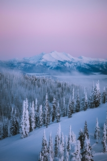 Winter Pastels in MT  IG petenathanson