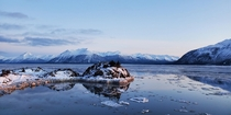 Winter Reflections - Turnagain Arm AK