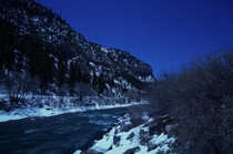 Winter Solstice along the Colorado River near Glenwood Springs