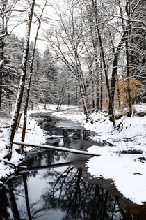 Winter Wonderland at Richfield Heritage Preserve Ohio